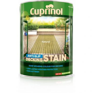 Cuprinol 5L Natural decking stain